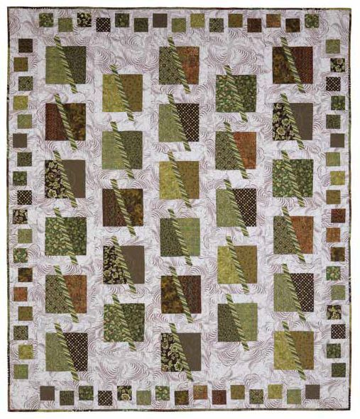 Swizzle Sticks Pattern by August Wind Quilt Designs. Love the border!