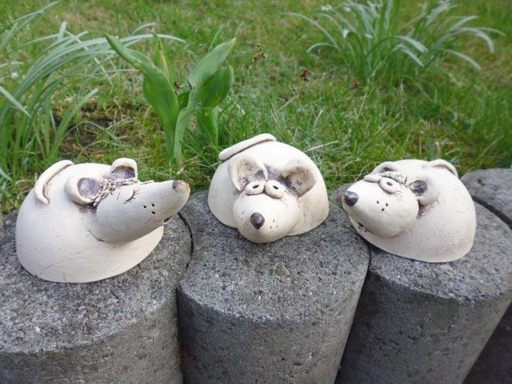 Maus von Keramikwerkstatt - Conni`s Keramik und ausgefallene Bilder auf DaWanda.com