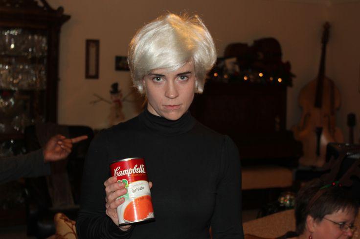 Warhol. - halloween costumes - Pinterest - Warhol, Halloween costumes ...