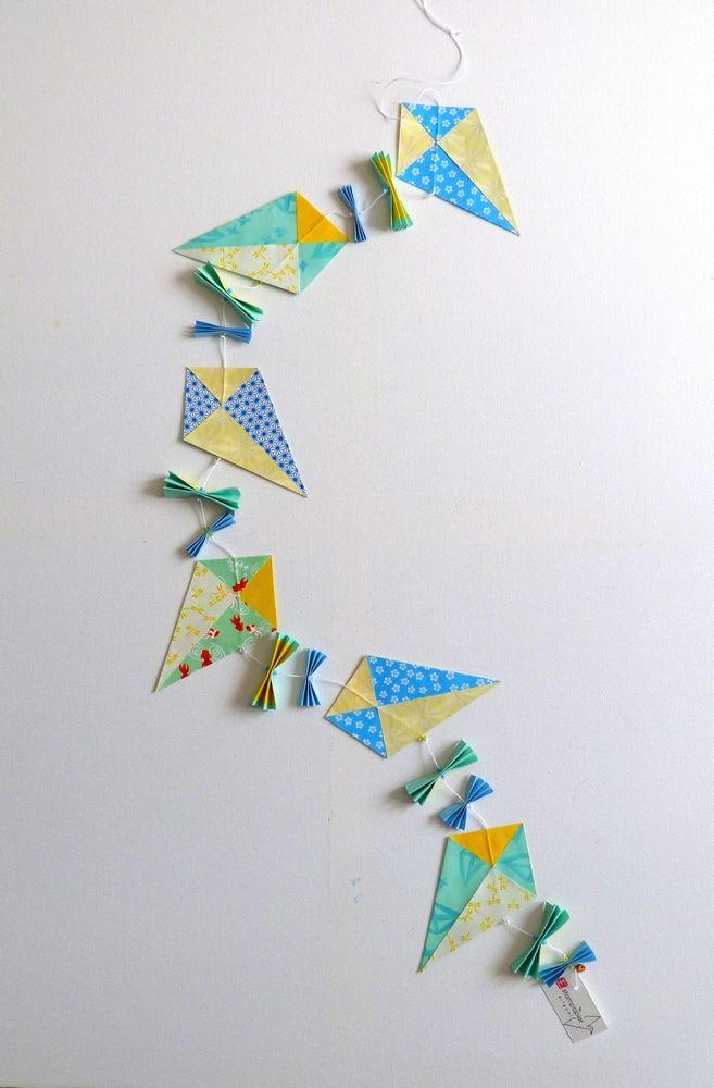 Guirlande de cerfs-volants pour Made by CyCy.