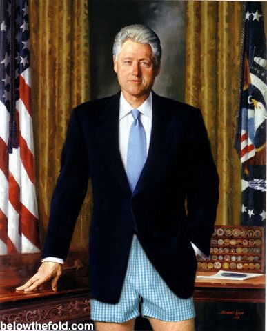 Funniest Bill Clinton Memes: Bill Clinton's Portrait