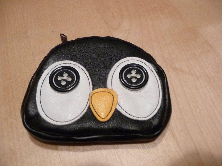 Mi Monedero - pingüino. #penguin