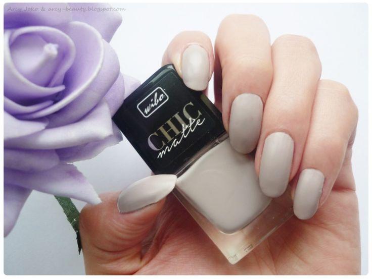 Wibo Chic Matte nr 2 Nails  #wibo #chicmatte #nails #paznokcie #paznokcie #zadbane #piekne #bezowe #klasyczne #natural #gently