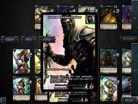 Shadow Era : Shattered Fates Preview #9 - Lance (Part 1 - Deck Tech) Walk through of a great Aggro Lance Deck by Fou DeLile #ccg #cardgame #shadowera