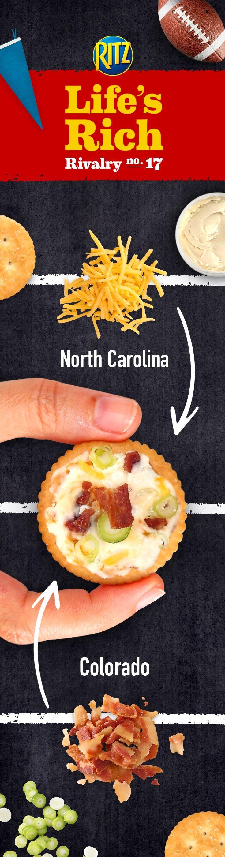 Cheesy Bacon RITZ Topper