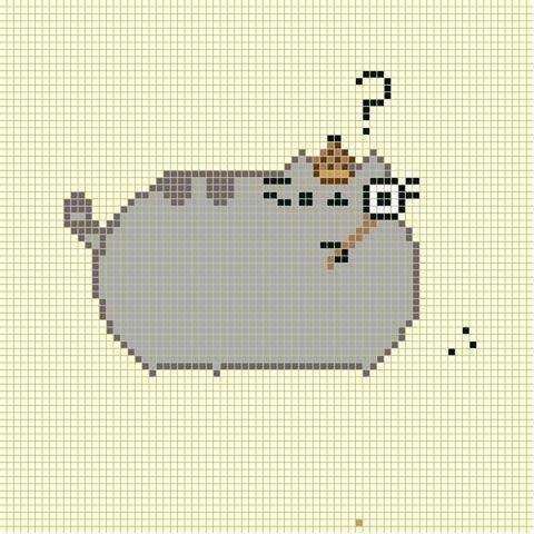 Pusheen Knitting Pattern : Pusheen Cross Stitch Stitchery Pinterest Pusheen ...