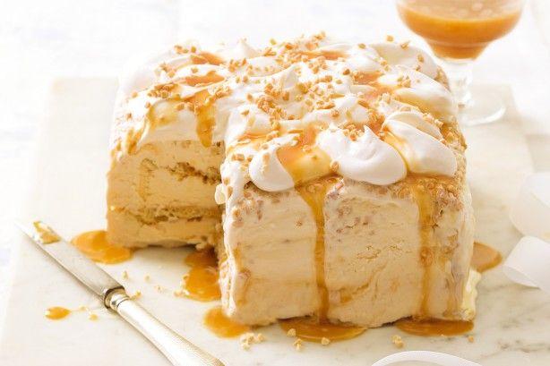 Work some magic with your freezer to make this luscious ice cream dessert cake.
