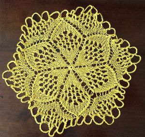 Lace pattern created with Chartographer knitting software.