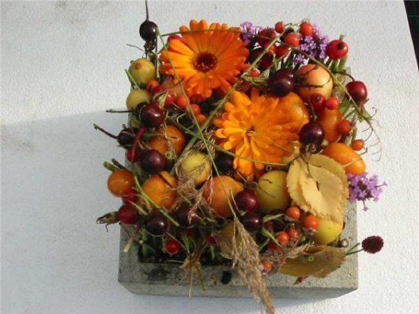 typical autumn dekoration