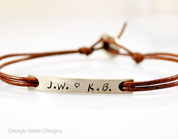Custom Message Slim Bracelet. Personalized Thin by DreamCityJewels