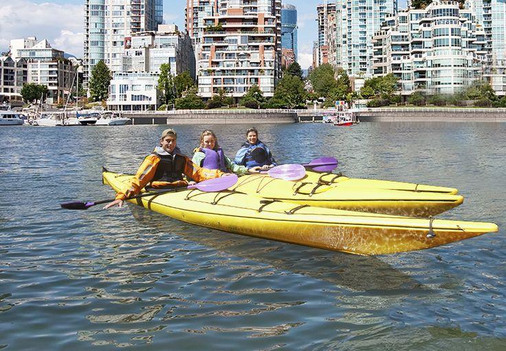 2HR Single Kayak Rental, 2HR Tandem Kayak Rental, or 3HR Intro Kayaking Lesson