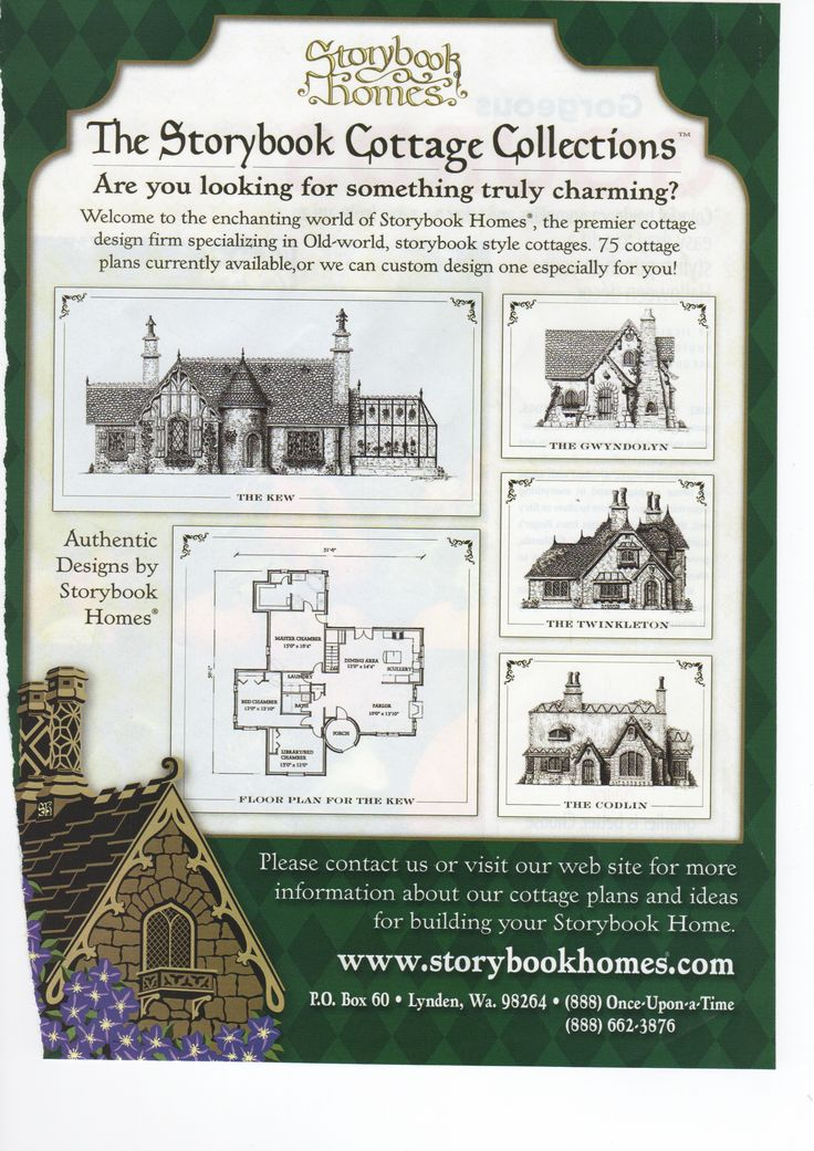 29 best storybook homes images on pinterest storybook for Storybook craftsman house plans