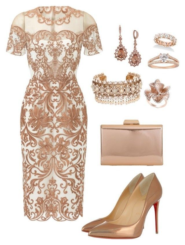 """Royal Wedding"" by summer-reign on Polyvore with Notte by Marchesa, Christian Louboutin, KoKo Couture - #on #Christian #Couture #forteens #"