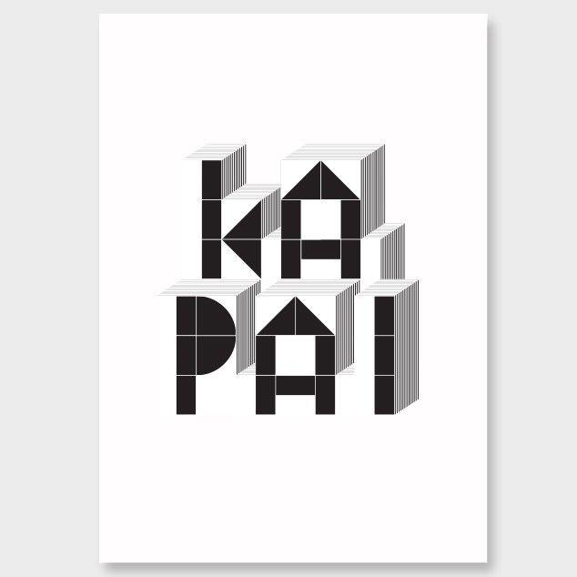 Ka Pai Print - Art Prints NZ Art Prints, Design Prints, Posters & NZ Design Gifts   endemicworld