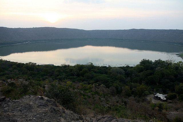 50,000 years old lake (lonvar crater lake)