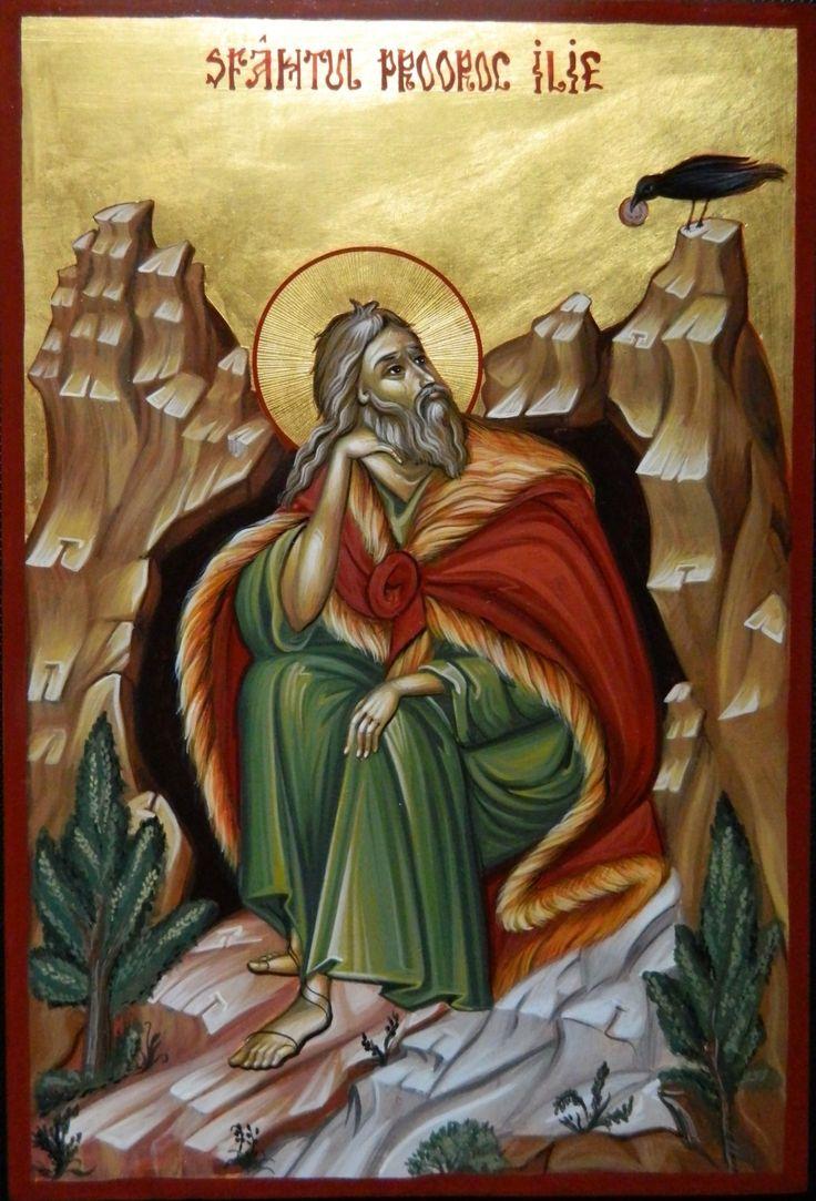 Prophet Elias by Elena Cerasela Ciuca