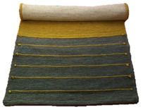 100% Natural Yoga Mat, from Vastra- Made with Organic Cotton - Dyed with plants & herbs used in Ayurveda.