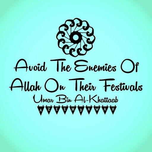 Avoid the Enemies of Allah on Their festival  Umar Bin Al-Khattaab