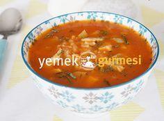 Pirinçli Tavuk Çorbası - http://www.yemekgurmesi.net/pirincli-tavuk-corbasi.html