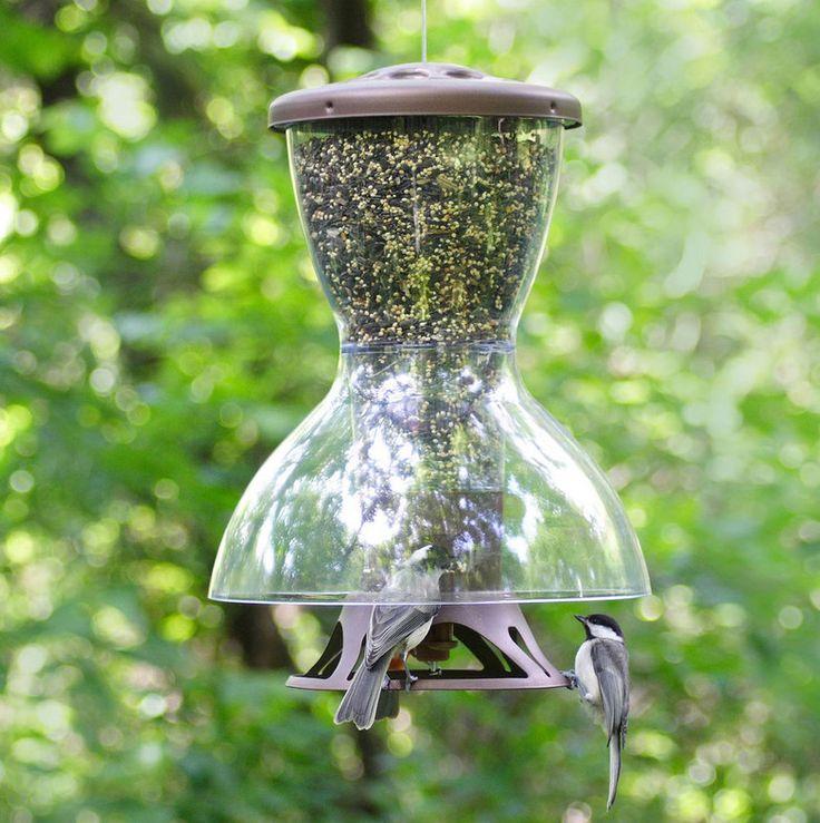 anti squirrel bird feeder