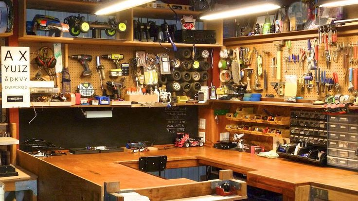 What does your hobby man-cave look like? RC workshop, workspace - Forum of last resort - General RC topics that don't fit in ANY other area @ URC Forums