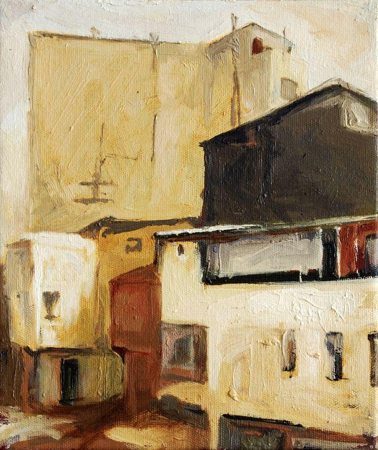 2008 / 30 x 25 cm. Tual üzerine yağlıboya / oil on canvas