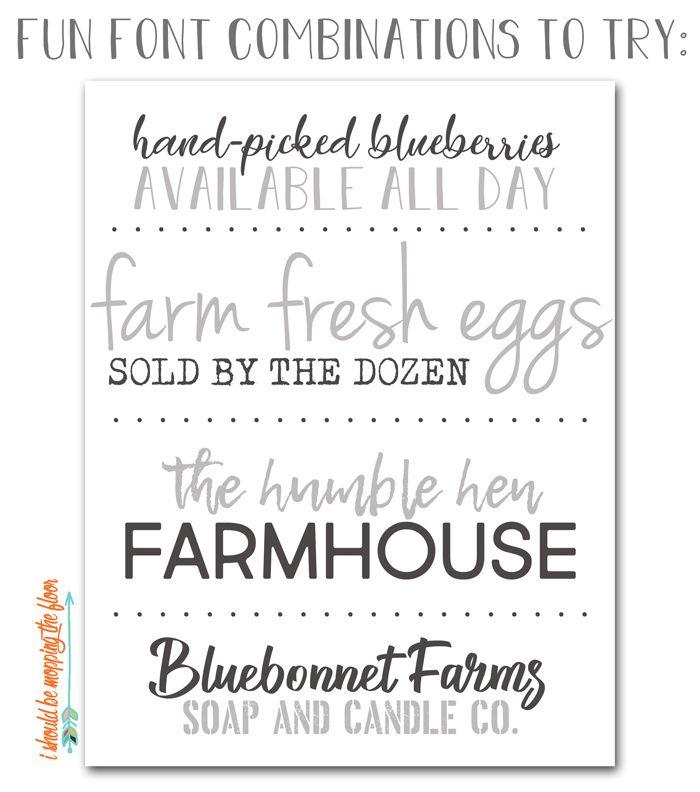 25 Free Farmhouse Font Downloads Sign Fonts Farmhouse Font Silhouette Fonts