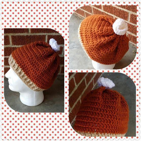 Pumpkin Pie Hat Crochet Pattern Hat Pattern by ThatsSewCarol