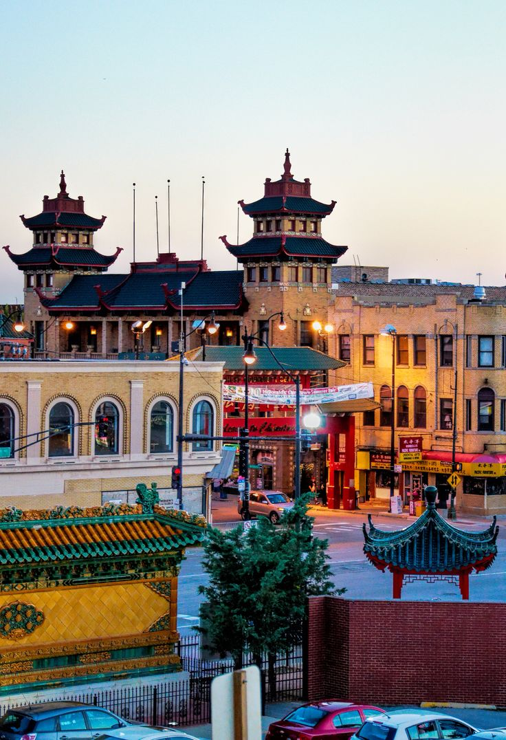 China Town. Chicago, Illinois.  Photo by Andy New.