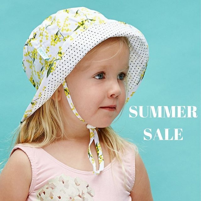 SUMMER SALE .... 40% off Summer styles including sale items starts now! Just enter promo code SUMMER40 to redeem your discount  ... limited time only and excludes straw hats other than the Sunset Fedora ... www.acornkids.com.au xx . . . . . . . . #acornkids #kidsaccessories #accessories #sunhats #kidshat #kidshats #sale #summersale #kidssale #hats #beachhats #promocode #endofseasonsale