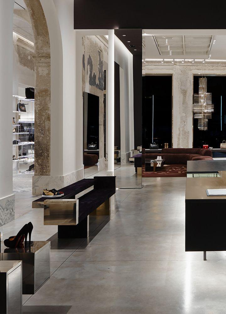 Antonia boutique palazzo cagnola milano italy by for Store design milano