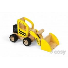 Big enough to provide real play opportunities but small enough to use in an indoor tray. This front end loader has moveable parts for digging and dumping fun. W12.5am L30cm H4.5cm. Rec 3+ Yrs.