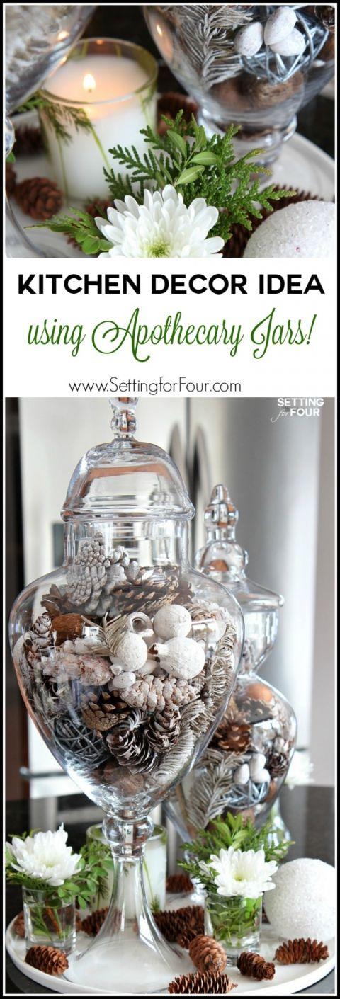 10 Minute Kitchen Decor Idea Apothecary Decor Decor Apothecary Jars