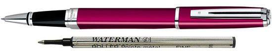 Waterman Exception Raspberry Slim St Rollerball Pen