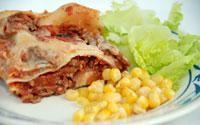 Milkprotein free Lasagna Swedish