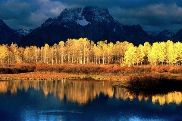 Национальный парк Гранд-Титон, Штат Вайоминг, США