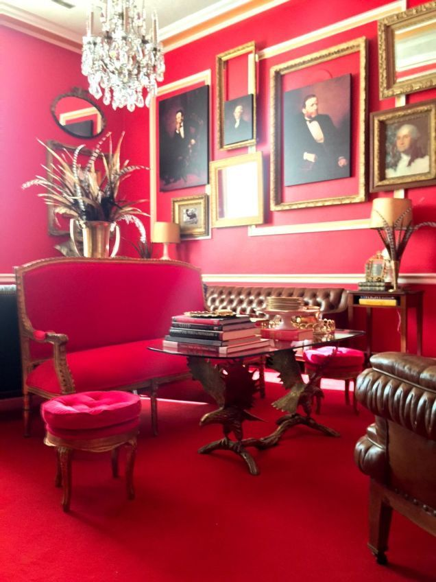 This Is What Rep. Aaron Schock's Decadent Office Actually Looks Like?!