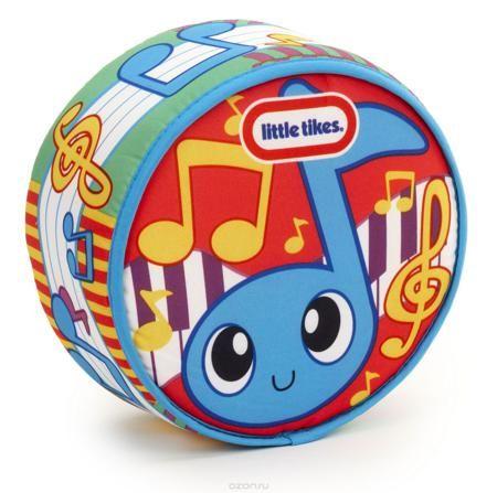 """Развивающая игрушка Little Tikes """"Drum-a-Ditty""""  — 1195р. ------ Развивающая игрушка Little Tikes """"Drum-a-Ditty"""" поможет вашему крохе сделать первые удачные шаги в мире музыки. Мягконабивной барабан оформлен яркими рисунками. При постукивании по игрушке будут воспроизводится звуки различных мелодий. Таким образом, малыш сможет сам сыграть мелодию. Барабан Little Tikes способствует развитию звуковосприятия, чувства ритма и координации движений. Рекомендуется докупить 2 батарейки напряжением…"""