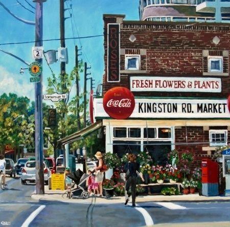 Kingston Rd. Market - Anna Clarey