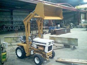 Cub Cadet 149 garden tractor loader_1