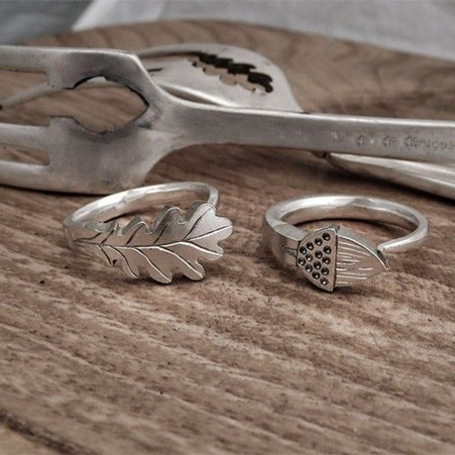 Oak leaf and acorn rings                                                                                                                                                                                 More