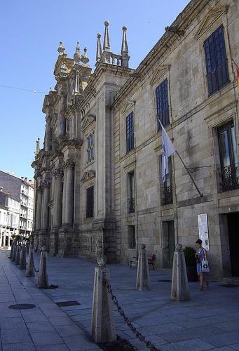 Monastère San Salvador, Celanova, comarque de Terre de Celanova, province d'Ourense, Galice, Espagne.