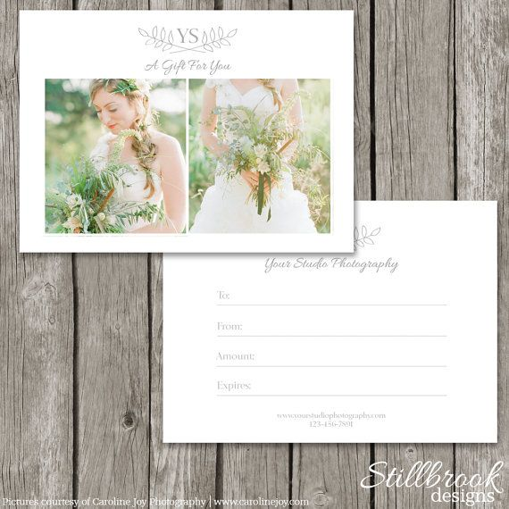 gift certificate template photoshop - 25 best ideas about gift certificate templates on