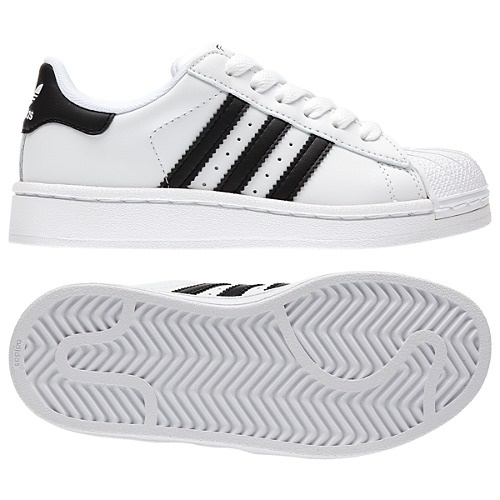 Adidas Superstar 2 K W shoes white black Sports wear