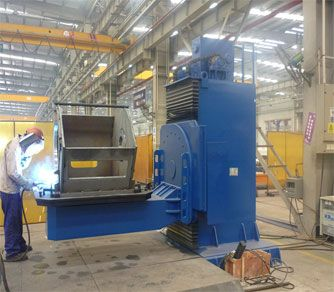 Welding Positioner  Welding positioner is mainly composed of worktable revolving unit and tilting unit.