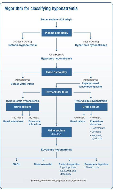 Hyponatremia classification algorithm