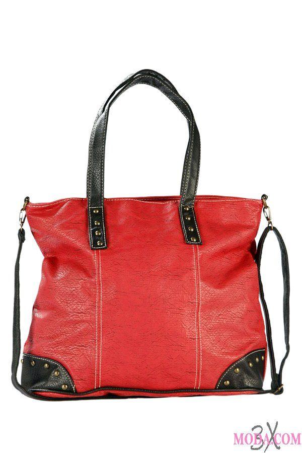 Kırmızı çanta severlere