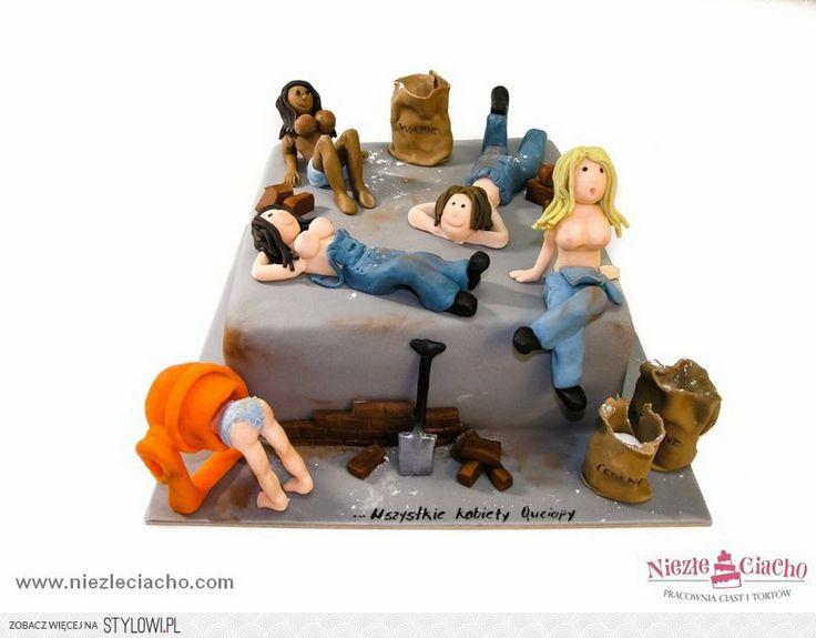 Kobiety, kobiecość, piersi, biust, tort, śmieszne torty, kawalerskie, tort dla panów, tort na wieczór kawalerski