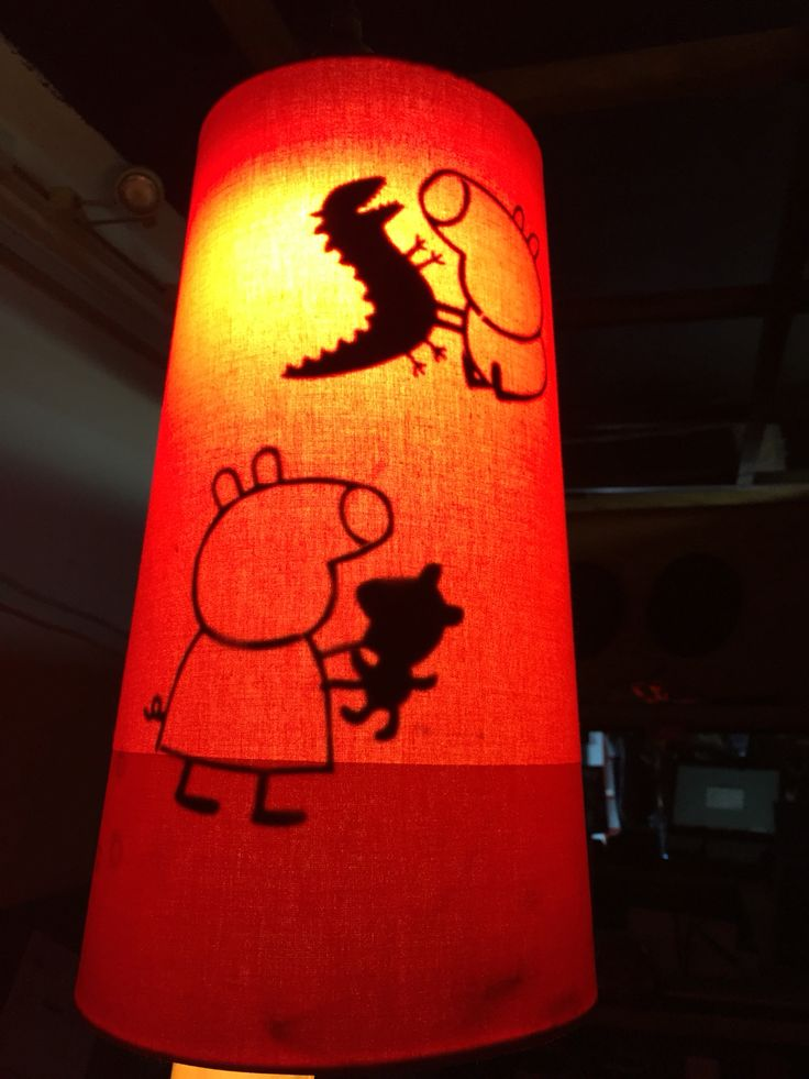 16 mejores imgenes de my projects from pins en pinterest peppa pig night light i cut out silhouettes of peppa and george glued them aloadofball Image collections