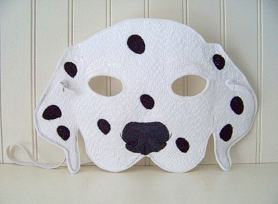 We Spot The Most Adorable Dalmatian Mask Etsy Fall And In 2019 Pinterest Costumes Costume